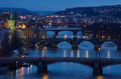 Prague Bridges - Prague, CZ, January 2012