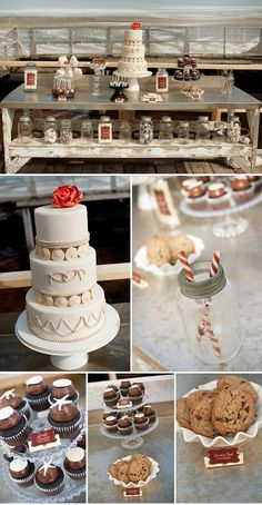 love this sweets table