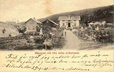 Värmland Årjängs kommun Månserud och öfre delen af Karlanda stpl 1903