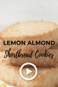 Lemon Almond Shortbread Cookies By I Breathe I'm Hungry. This Is An Easy Low Carb Shortbread Dough Recipe That Makes Beautiful Keto Shortbread Cookies, Or The Perfect Low Carb Shortbread Crust For A Summer Fruit Tart Or Lemon Meringue Pie Pin Made By Keto Cookies, Almond Shortbread Cookies, Shortbread Crust, Low Carb Desserts, Low Carb Recipes, Healthy Recipes, Diet Desserts, Sweets Recipes, Pork Recipes