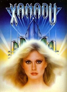 Xanadu-really terrible movie lol. but sadly I loved it... I mean ELO has some music in there.. we get to look at the beautiful Olivia sing, dance, rollerskate. #justappreciatingbeauty