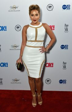 Adrienne Bailon At The OK! Magazine TV Launch Party