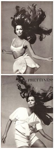 this is what I call hair! June 1968, Lauren Hutten photographed by Richard Avedon for Vogue.
