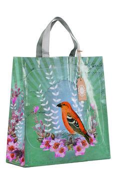 Prachtige shopper met uniek Papaya design! De shopper is gemaakt van 95% recycled materiaal.Formaat: 38 x 38 x 12,7 cmMerk: Papaya art