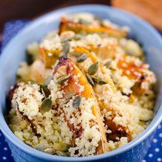 Kuszkusz grillezett sütőtökkel Recept képpel - Mindmegette.hu - Receptek Potato Salad, Paleo, Potatoes, Meat, Chicken, Ethnic Recipes, Food, Potato, Essen