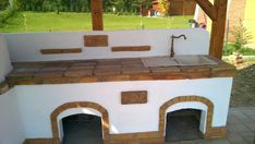 Kerti konyha - Veresegyház Outdoor Kitchen Plans, Outdoor Kitchen Design, Patio Design, Outdoor Fireplace Designs, Backyard Projects, Outdoor Entertaining, Outdoor Decor, Home Decor, Cottage Style Homes