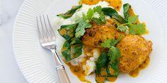 Free Recipe: Chicken Tikka Curry with Cauliflower Mash Healthy Mummy Recipes, Healthy Freezer Meals, Healthy Cooking, Cooking Recipes, Healthy Eating, Healthy Dinners, Clean Recipes, Healthy Foods, Chicken Tikka Curry