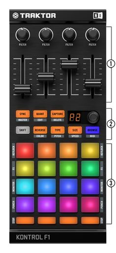 Traktor Kontrol F1 from may 30th