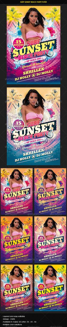 Retro Trunk Party Flyer Template Party flyer, Flyer template and