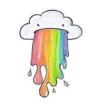 Raining rainbows!?!?!?