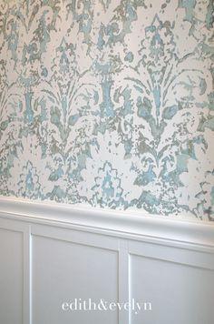 32 Best Shower Tile Ideas That Will Transform Your Bathroom - The Trending House Powder Room Wallpaper, Bathroom Wallpaper, Of Wallpaper, Handmade Home, Home Design, Interior Design, Modern Master Bathroom, Master Bathrooms, Minimalist Bathroom