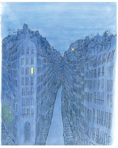 In the City / by Jean-Jacques Sempé