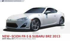 SCION FR-S and SUBARU BRZ 2013 ANTI-ROLL-KIT
