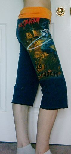 POTC Pirates of the Caribbean Capri Pants DIY by DarkStormClothing, $26.00