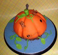 Pompoen taart, oktober 2013