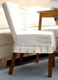 parson-chair slipcover from drop cloth....ana-white.com plus so many more tutorials!!!!