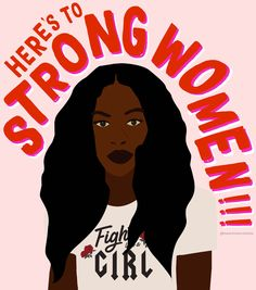Here's to strong women! Feminist wall art that will keep you empowered and inspired. #Feminism #GirlPower