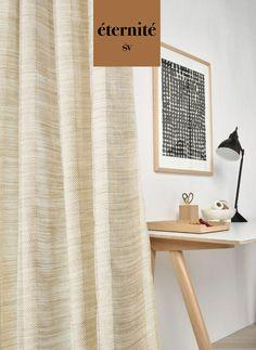 """Der Leinenstoff """"Vincent"""" überzeugt mit einer klassischen und zeitlosen Dessinierung in zarten Farben. Die natürliche edle Knitterung des Stoffes und seine gute Festigkeit sorgen für einen leichten und schwungvollen Fall, der ein gemütliches und elegantes Ambiente zaubert. Eine Kreation, die zum Wohlfühlen einläd. Curtains, Home Decor, Sheer Curtains, Blinds, Decoration Home, Room Decor, Draping, Home Interior Design, Picture Window Treatments"""
