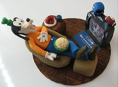 Goofy Cake with chiefs instead