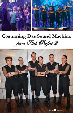 Costuming Das Sound Machine from Pitch Perfect 2 (DSM, Car Show, Komisar, Flula, German Automotive Perfection, cosplay, group costume, couple's costume)