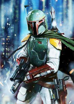 Star Wars - Boba Fett ;)