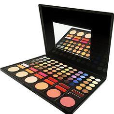 Professional 78 Color Makeup Palette, Eyeshadow Makeup Kit by Beauty Bon -- Visit the image link more details.