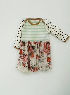 Baby girl dress made to order size newborn to by MishmashClothing