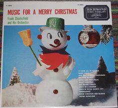 Music for a Merry Christmas. Vintage Christmas record  #vintagechristmas #vintagechristmasdecorations #vintagechristmasideas