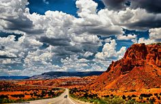 Vivid colors in New Mexico