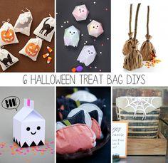 6 Halloween Treat Bag DIYs | this heart of mine