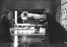 Behind the scene photos of the original Star Wars Trilogy. Go to: http://m.imgur.com/a/0RmF7