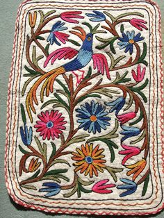 Handicrafts of India: Namdas and Gabba rugs - Exotic handicrafts of Kashmir , India