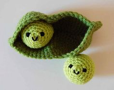 """Two Peas (make that One) in a Pod""...cute!"