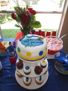 Kevin's- Sid the Science kid cake