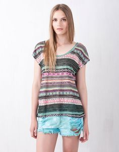 PRINTED TOP - NEW PRODUCTS - WOMAN - Serbia