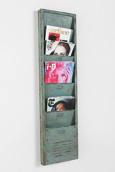 Industrial Magazine Rack: Urban Outfitters Contest