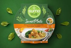 Packaging Design for SumoWell Smart Plates in Australia - World Brand Design Society Turmeric Cauliflower, Article Design, Brand Guidelines, Branding Agency, Creativity And Innovation, Packaging Design Inspiration, Food Packaging, Healthy Choices, Meals