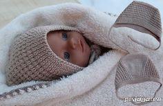 Чепчик для новорожденного спицами,/ klikni je tam video čiapočky