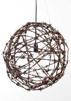 Tawonga Barbed Wire Ball Light