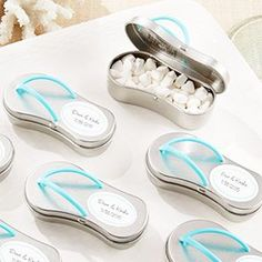 beach wedding favors