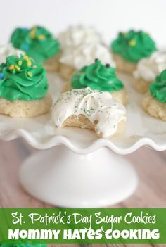 St. Patrick Day Old Fashioned Cookies I Mommy Hates Cooking