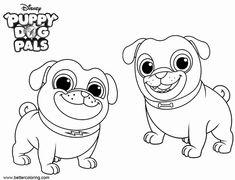 """Puppy Dog Pals Coloring Page Unique Imagens Do """"the Puppy Dog Pals"""" Para Imprimir E Colorir – Colorir."""