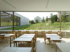 TRANSFER Works | Kindergarten, Switzerland, 2015 | Pierre-Alain Dupraz | © Thomas Jantscher