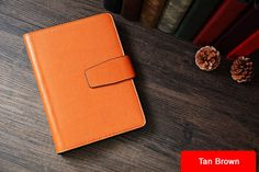 bf67f0d67cb Custom Handmade Vegetable Tanned Italian Leather A5 Notebook Journal Book  Diary Book D049