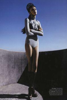 Solange Wilvert (Next NY) by Troyt Coburn for Vogue Austraila November 2008