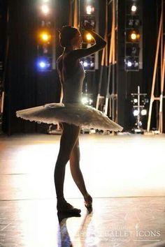 Svetlana Zakharova during Russian ballet icons rehearsal.
