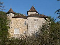 Provinces De France, Destinations, French Castles, Rhone, Medieval Fantasy, Middle Earth, Facade, Tower, Cabin