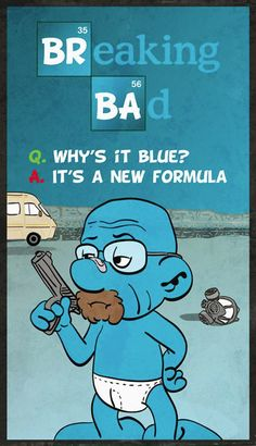 Breaking Bad. One of our Rocketeers had his amazing artwork featured in Empire Magazine!