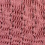 Stitch Pattern Vines | Lace - Hand Manipulated | Knit it Now