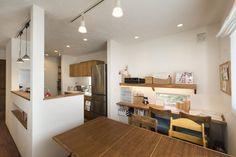 使いやすさ◎横並びのキッチン&ダイニング #キッチン #igstylehouse #アイジースタイルハウス